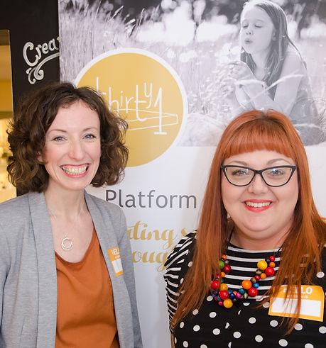 Platform Thirty1 directors, samantha whelan, jodie cresswell-waring