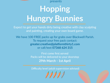 'Hopping Hungry Bunnies' Spring Activity Packs