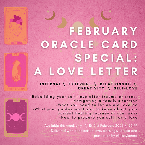 Love Letter - Oracle Reading