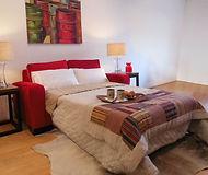 Sofa cama - modelo retro 2