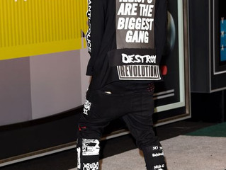 Vic Mensa May Have Made The Biggest Political Statements with just his clothing...
