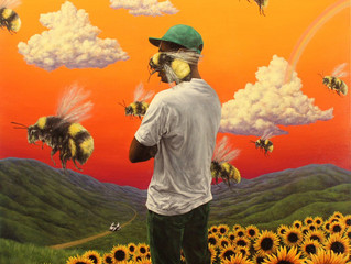"""Fans rave about Tyler the Creator coming out on his new leak album """"Flower Boy"""" how true i"""