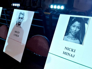 Miley Cyrus seemed a bit surprised last night at VMAS when Nicki Minaj called her out on comments sh