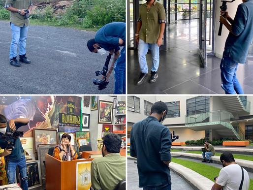 Going to School, Mumbai made a Documentary on Mr. Rahul Basak's life