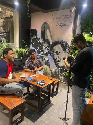 Interviewed by Bidhan Nagar Times, Kolkata