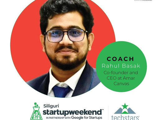 Invited by Siliguri Startupweekend in partnership with Google for Startups.