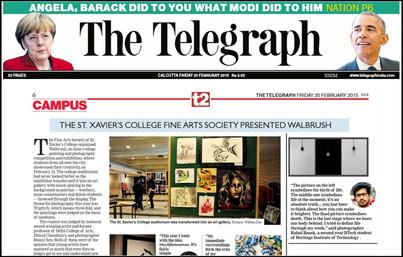Rahul Basak in The Telegraphe