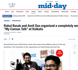 Rahul Basak Featured in Mid-Day