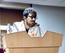 Rahul Basak at Heritage institute of tec
