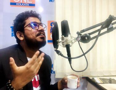 Rahul Basak at 98.3 Radio One