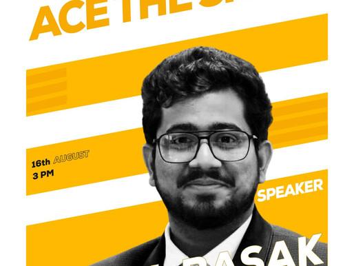 Guest Speaker at Netaji Subhas University of Technology, Delhi