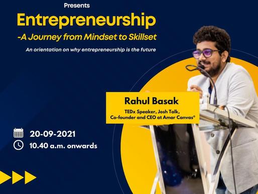 Guest Speaker at Symbiosis Centre For Management Studies, Noida