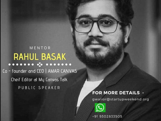 """Guest Speaker at Madhya Pradesh as a Mentor in a partnership with """"Google for Startups"""""""