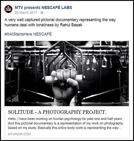 Rahul Basak MTV Photographer