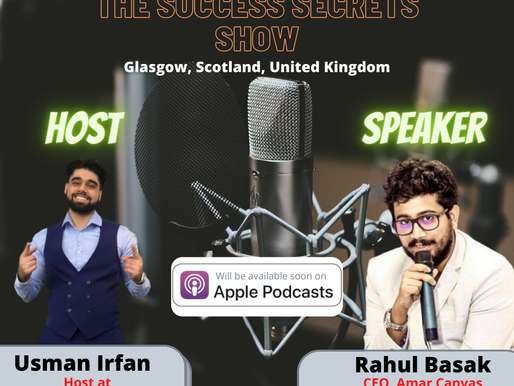 Guest Speaker at TSSS (Podcast), Scotland