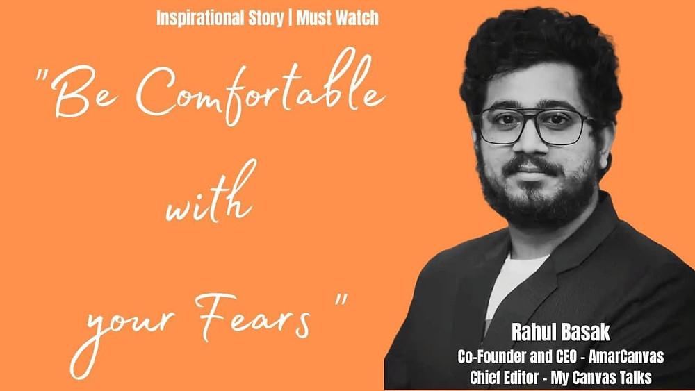 Rahul Basak Interview