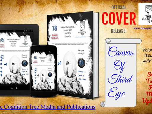 """Mr. Rahul Basak's photographed used as a Cover Photo on  """"The Cognition Tree"""" Magazine"""