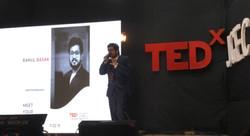 Rahul basak at TEDx jgec