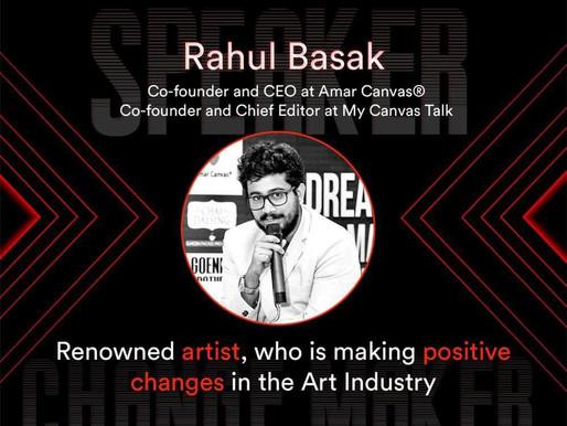 Rahul Basak Receives His 3rd TEDx Invitation.