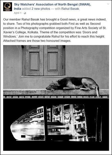 Rahul Basak Astro-photography works