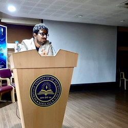 Rahul Basak at Heritage institute of tec