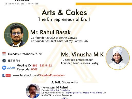 Guest Speaker at Silverink Talks - Golden Series, Kanyakumari