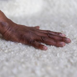 Handwoven Mohair rug