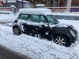 フランス本格的な冬到来