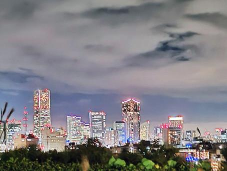 横浜の景色とご挨拶