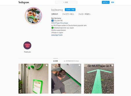 Instagram フランス・ドイツ