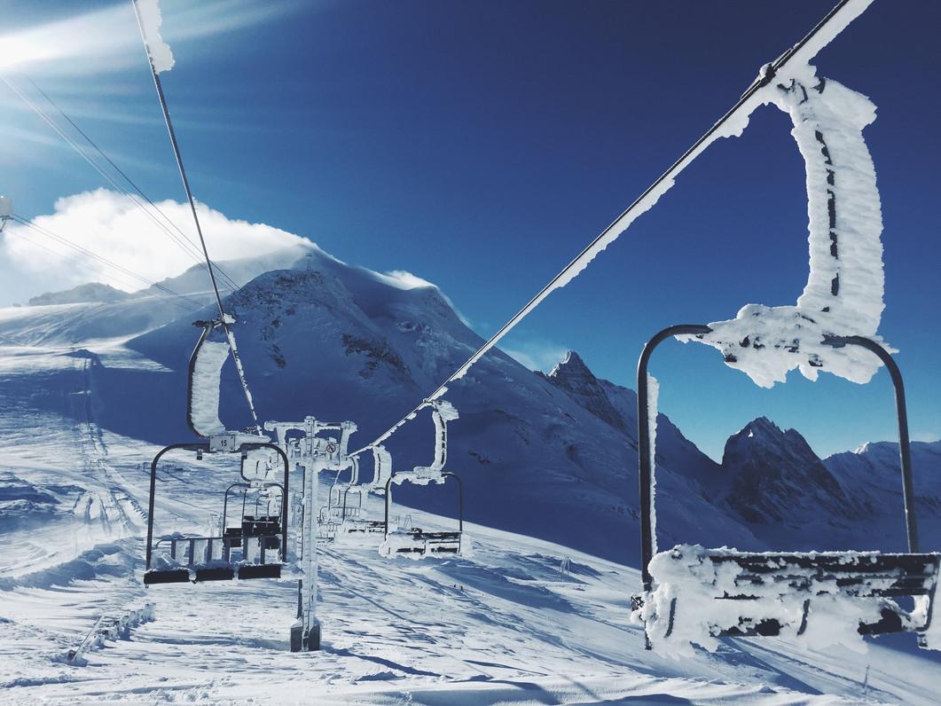 Ski Mountain Chair Lift