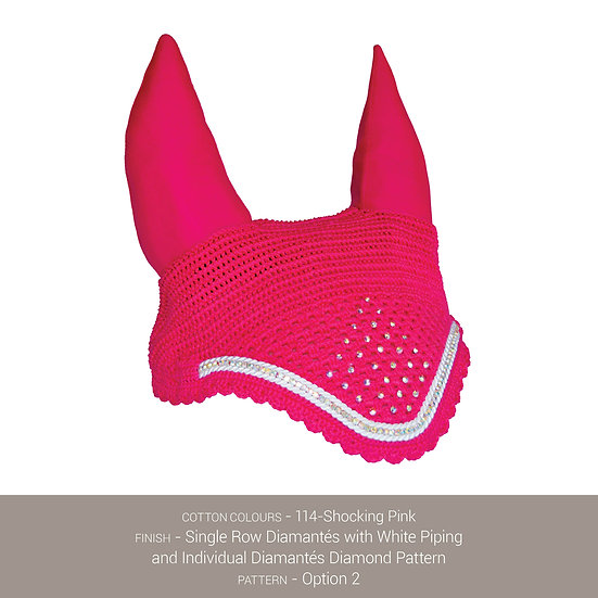 Boduke Bonnet Shocking Pink