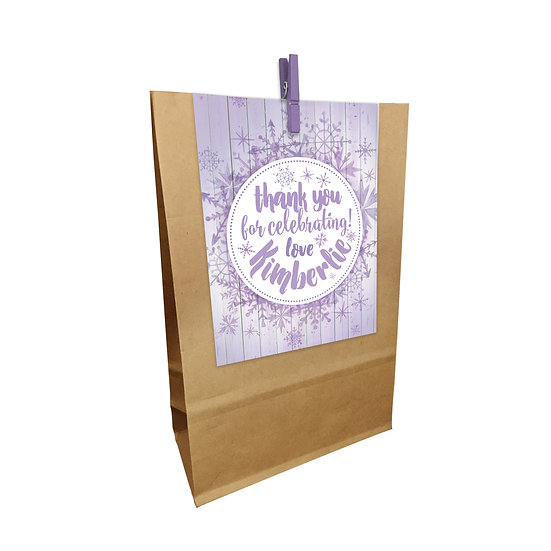 SNOWFLAKES PARTY BAGS