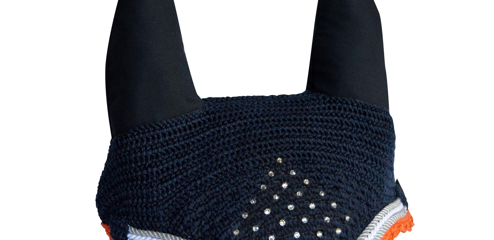 Three rows piping diamente diamond patte