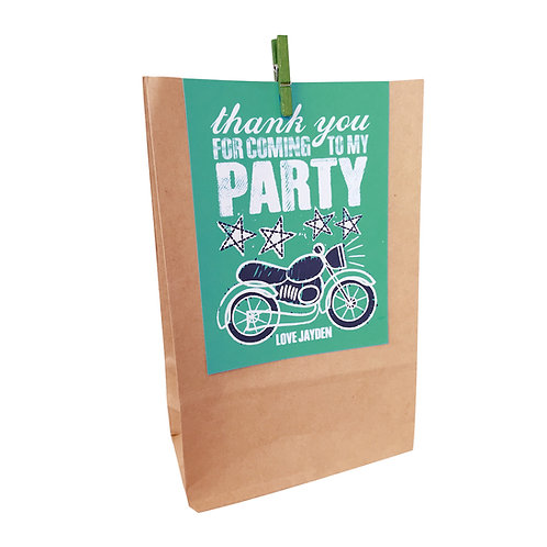MOTORBIKE PARTY BAGS
