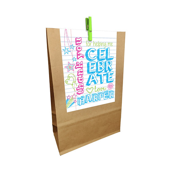 SKETCHES PARTY BAGS