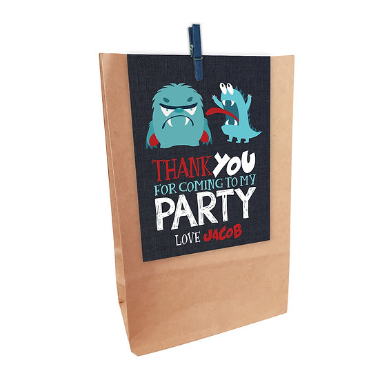 MONSTERS PARTY BAGS