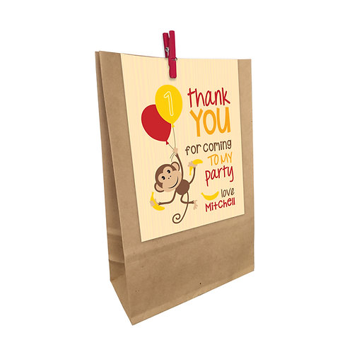 CHEEKY MONKEY PARTY BAGS