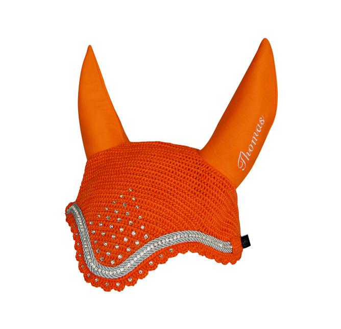 Orange Bonnet Thomas Single Row Diamante