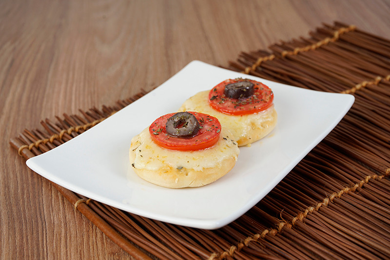 Mini Pizza de Mussarela