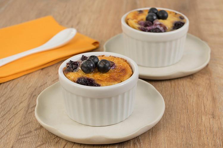 Clafoutis de blueberry