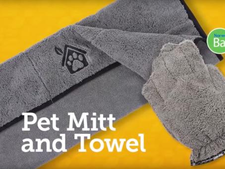 Amazing Pet Towel & Pet Mitt