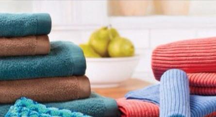 Bath Towels & Kitchen Cloth Set
