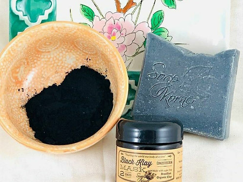 Activated Charcoal Facial Bars