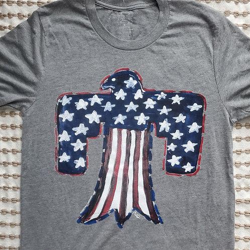 Texas True Threads Patriotic Thunderbird