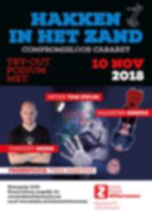Hakken in het Zand: 10 november 2018