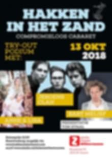 Hakken in het Zand: 13 oktober 2018