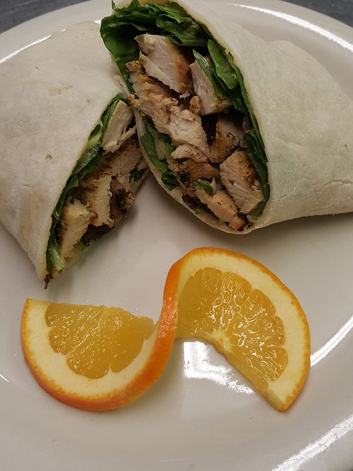 Get Fit Chicken Wrap