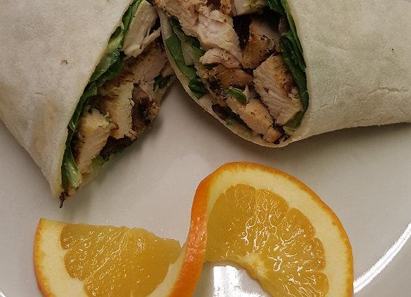 Get Fit Chicken Wrap