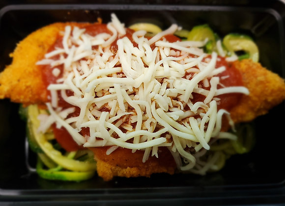 Get Fit Chicken Parmesan